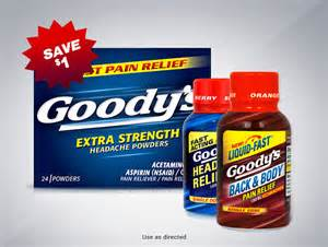 goody com goody s 174 powder pain relievers