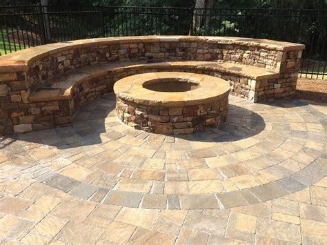 paver pit dimensions belgard flagstone pavers circle paver patio designs