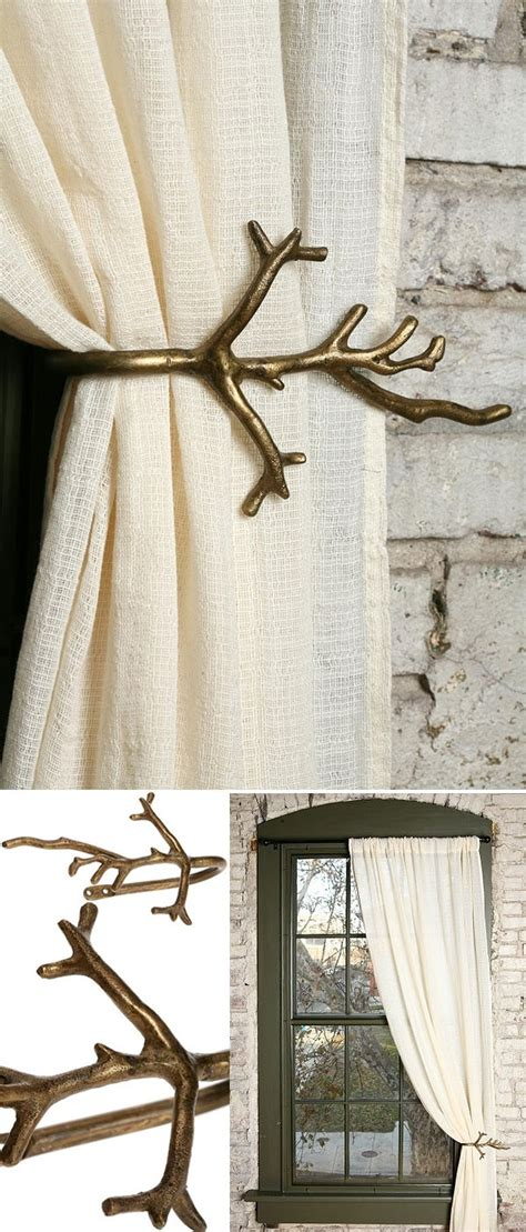 branch curtain tie back 17 best images about tiebacks curtain on pinterest hemp