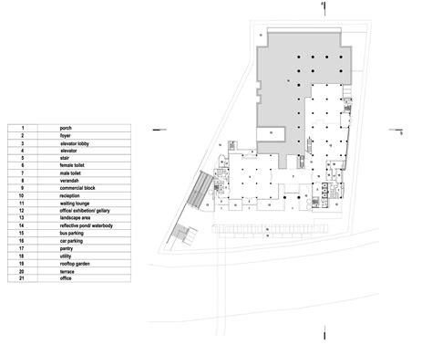 setia walk floor plan context bd sp setia headquarter by shatotto and archicentre
