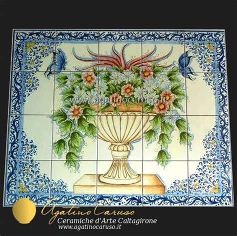 piastrelle siciliane ceramiche di caltagirone agatino caruso maioliche siciliane