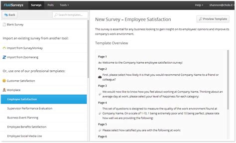 presenting the brand new survey templates fluidsurveys