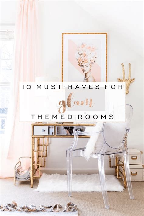 must haves for room 10 must haves for glam themed rooms blue deer custom design and website design