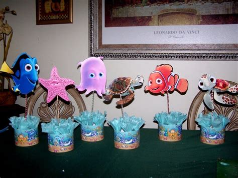 finding nemo easy center pieces decoration finding nemo