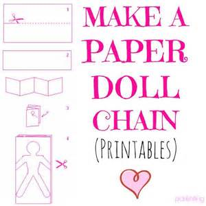 paper doll chain template 25 best ideas about paper doll chain on paper