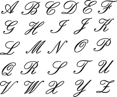 tattoo fonts different languages alphabet letter styles strength lettering also