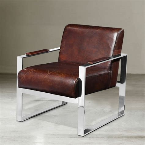 steel armchair nordic neo classical wax becomes stainless steel metal texture memo leather sofas