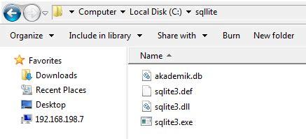 membuat database akademik bagaimana cara membuat database di sqlite belajar