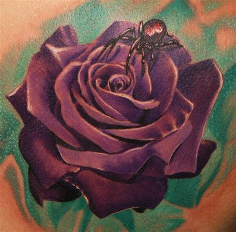 spider rose tattoo tattoos image by joan mcallister
