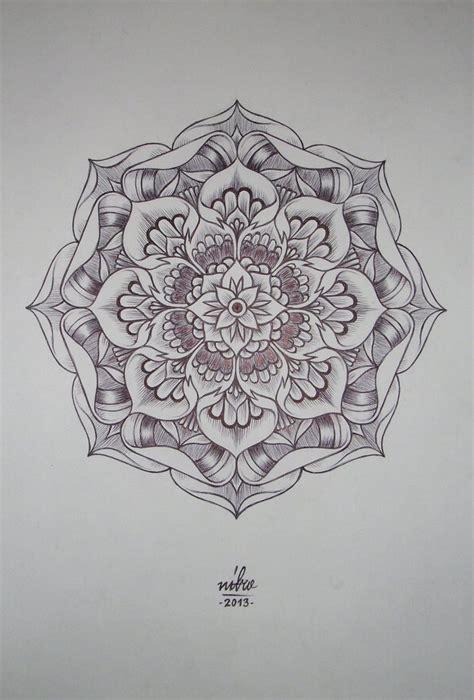 lotus pattern drawing flower mandala by shitshyle d5s5kdh jpg 735 215 1 086 pixels