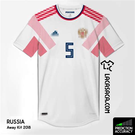 Jersey Rusia Away Official mis ideas para el mundial 2018 la casaca