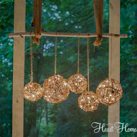 easy diy outdoor chandelier all things and home