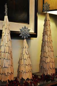 Christmas Decorations Home Made weihnachtlich dekorieren mit diy weihnachtsb 228 umen freshouse