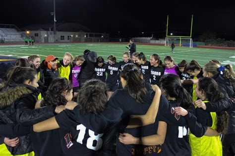 cif southern section girls soccer girls soccer advances to the cif southern section finals