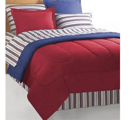 nautical bed in a bag red blue reversible nautical bedding set bed in a bag