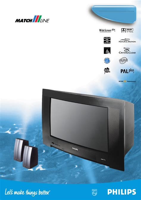 Philips Crt Television 28pw9615 User Guide Manualsonline Com