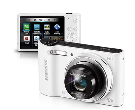 cámara digital samsung wb30f, 16mpx, 10x, video hd ec