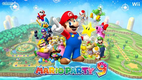test de mario party 9 sur wii hd youtube