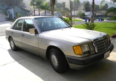 buy car manuals 1992 mercedes benz 300e parking system buy used 1992 mercedes benz 300e 4 door sedan in pomona california united states for us 3 500 00