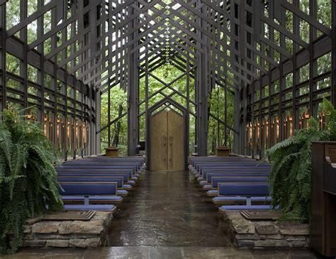 Frank Lloyd Wright Floor Plans Thorncrown Chapel By E Fay Jones 171 Inhabitat Green