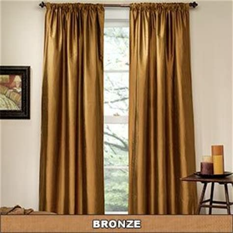 bronze curtain somerton silk bronze curtains for the home pinterest