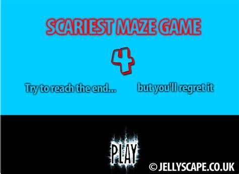 scary maze 4 scary maze