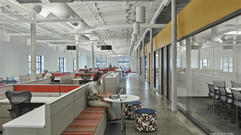 Food St Office by Hok Rehabs Historic Truck Terminal For Tyson Foods Office