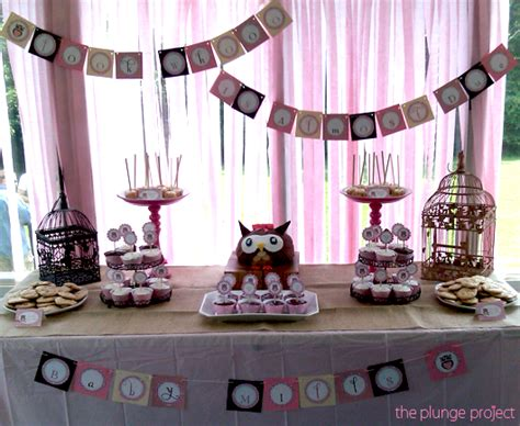 owl themed baby shower table setting baby shower ideas pinterest owl baby shower table decorations