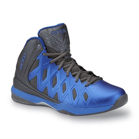and1 boys basketball shoes and1 s unbreakable black blue high top basketball shoe