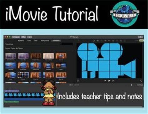 tutorial for imovie 9 step by step instructions worksheets and videos on pinterest