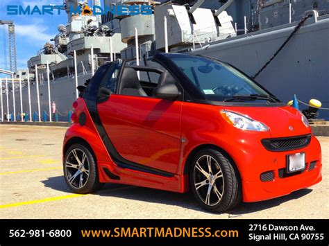 smart car redesign kits impact kuhl fx kit team dynamics wheels smart madness