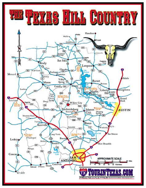 texas hill country road trip map texas hill country map chronicle review fredericksburg texas writer review knot in the