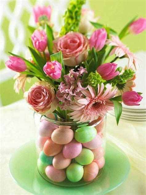 easter centerpieces to make easy easter wedding centerpiece
