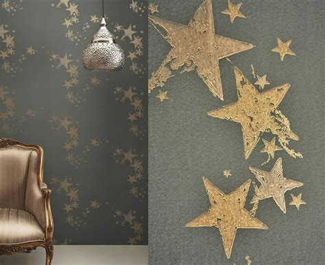 star wallpaper bedrooms all star wallpaper by barneby gates eclectic wallpaper