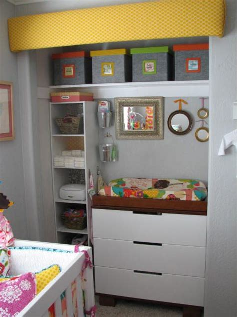 Closet Dresser Combo by Putting Changing Table In Closet Could Save Space In Nursery Guest Room Combo Not Just The