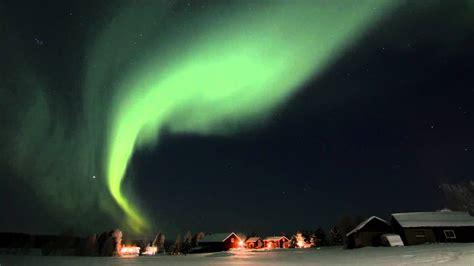 Nordic Lights by Fantastic Nordic Light In Swedish Lapland