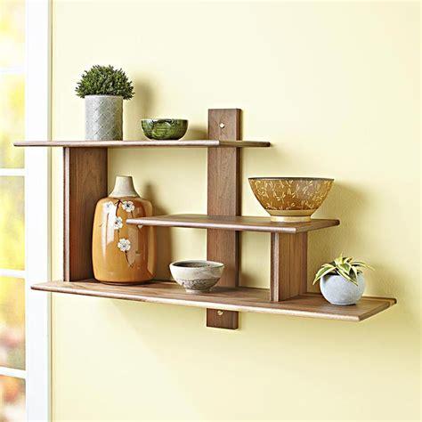 modern wall shelf modern wall shelf woodworking plan from wood magazine