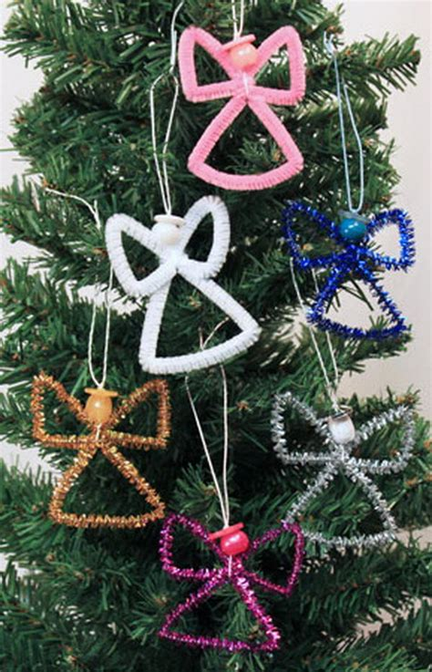 easy to make ornaments for adults 80 cool pipe cleaner crafts hative