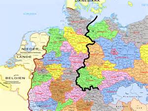 West Germany Map by Did The Division Between East And West Germany Coincide