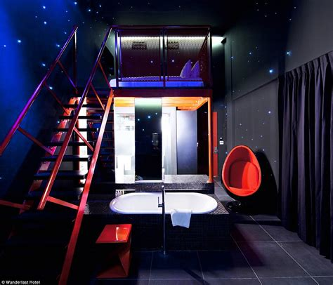space room lounge kameha grand zurich launch space themed hotels zero gravity beds daily mail