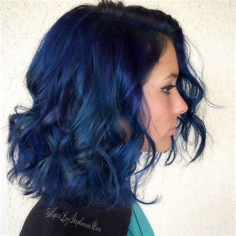 Blue Hairstyles 20 blue hairstyles that will brighten up your look