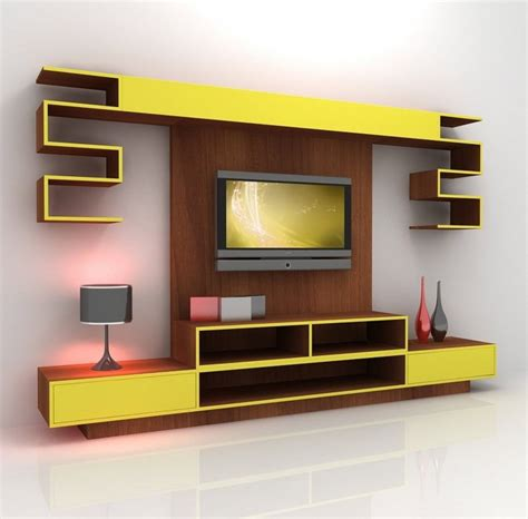 Home Decor Tv Wall 7 Cool Contemporary Tv Wall Unit Designs For Your Living Room
