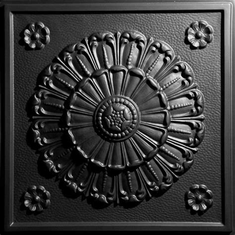 Black Ceiling Medallion by Medallion Black Ceiling Tiles