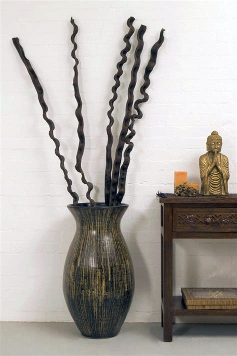 Vase With Branches by Floor Vase With Branches