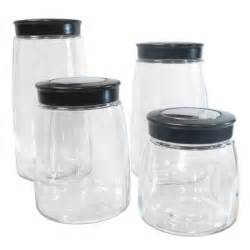 glass kitchen canister 32 glass kitchen canister sets house decor ideas