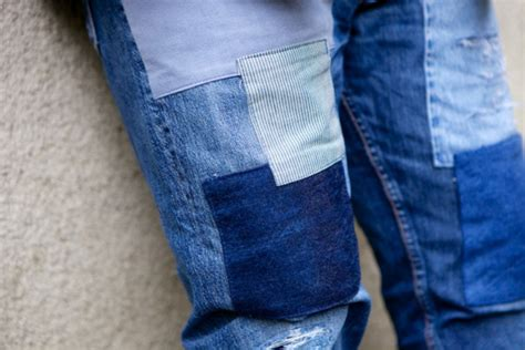 Levis Handmade - starcow x levi s custom 501 patchwork freshness mag