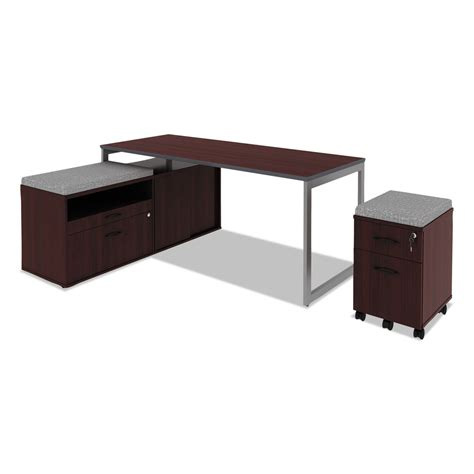 open office desk alera open office desk series adjustable o leg desk base