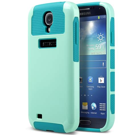 galaxy s4 rugged for samsung galaxy s4 i9500 hybrid shockproof rugged heavy duty cover ebay