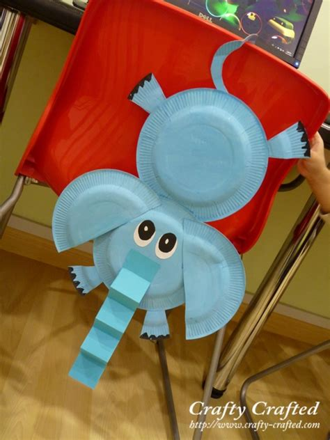 Paper Plate Elephant Craft - crafty crafted crafts for children 187 search results