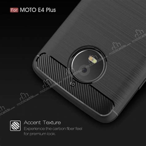 Motorola Moto E4 Plus Silikon Slim Carbon eiroo carbon shield motorola moto e4 plus ultra koruma siyah k箟l箟f